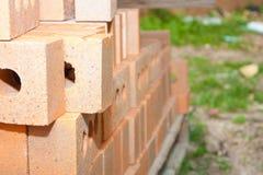 Tijolos da construção Imagens de Stock