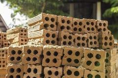 Tijolos da construção Fotografia de Stock