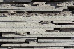 Tijolos da pedra de Vulcanic Imagens de Stock Royalty Free