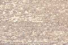 Tijolos das pirâmides foto de stock royalty free