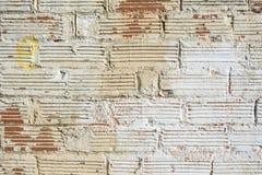 Tijolos de pedra romanos autênticos da textura Imagem de Stock