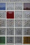 Tijolos de vidro Foto de Stock Royalty Free