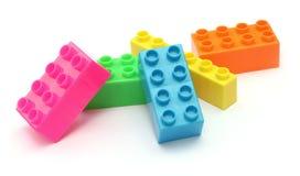 Tijolos do brinquedo Imagens de Stock Royalty Free