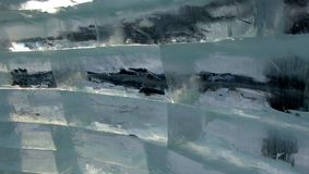 Tijolos do gelo Imagens de Stock