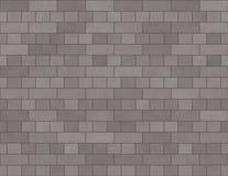 Tijolos pequenos do fundo sem emenda da parede de tijolo no cinza ilustração royalty free
