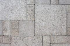 Tijolos quadrados cinzentos foto de stock