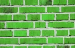 Tijolos verdes Imagem de Stock Royalty Free