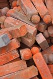 Tijolos vermelhos Imagens de Stock