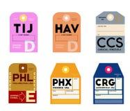 Tijuana Αβάνα Καράκας της Φιλαδέλφειας Φοίνικας Τζάκσονβιλ απεικόνιση αποθεμάτων
