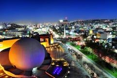 Tijuana Cityscape At Night