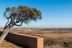 Tijuana Estuary Viewing Point en San Diego Imagen de archivo libre de regalías