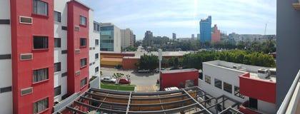 Tijuana from Hotel Room royalty free stock photo