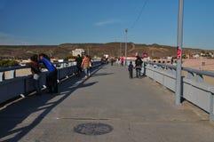 Tijuana pedestrian bridge Stock Photos