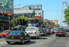 Tijuana Traffic, Messico Immagini Stock Libere da Diritti