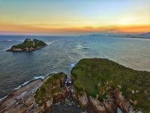 Tijuca wyspa Zdjęcia Royalty Free