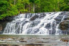 Tijuipe waterfall. Tijuipe Fall is located Itacaré, south of Bahia State, Brasil Stock Photos