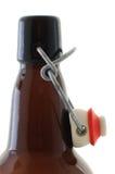 Tik-hoogste bierfles Royalty-vrije Stock Fotografie