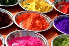 Tika powder. In india Stock Photo