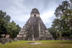 Tikal fotografia stock