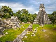 Tikal immagini stock