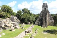 Tikal de surpresa na Guatemala foto de stock