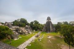 Tikal. Famous ancient Mayan temples in Tikal National Park, Guatemala, Central America Stock Photos