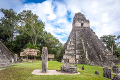 Tikal Royalty Free Stock Photography