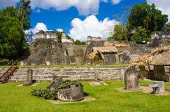 Tikal Guatemala Foto de Stock Royalty Free