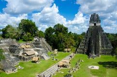 Tikal Guatemala Images libres de droits