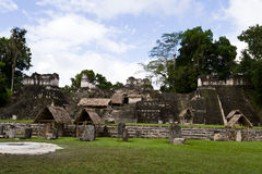 Tikal, Mayan Ruins Royalty Free Stock Photos