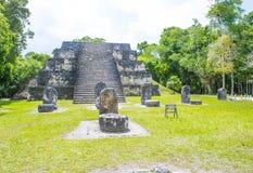 Tikal National Park Royalty Free Stock Image