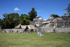Tikal ruiny Obrazy Royalty Free