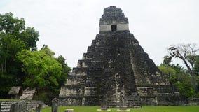 Tikal tempel, Tikal nationalpark, Guatemala Royaltyfria Bilder