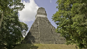 Tikal - temple Photo libre de droits