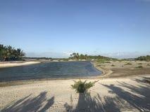 Tikehau lagoon royalty free stock photos