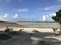 Tikehau lagun royaltyfri foto