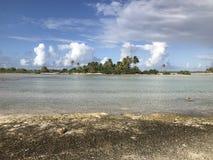 Tikehau lagun royaltyfria foton
