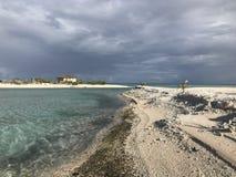 Tikehau pink beaches stock photo