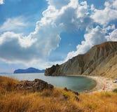 Tikhaya Cove of the Bay of Koktebel, Crimea Stock Images