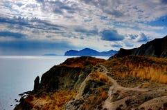 Tikhaya Cove of the Bay of Koktebel, Crimea Royalty Free Stock Photo