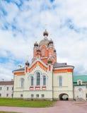 Tikhvin Assumption Monastery Stock Photo
