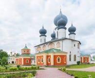 Tikhvin Assumption Monastery Royalty Free Stock Image