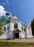 Tikhvin Assumption Monastery, a Russian Orthodox, (Tihvin, Saint Petersburg region, Russia) Royalty Free Stock Photo