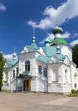 Tikhvin Assumption Monastery, a Russian Orthodox, (Tihvin, Saint Petersburg region, Russia) Royalty Free Stock Images