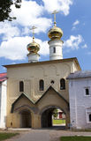 Tikhvin Assumption Monastery, a Russian Orthodox, (Tihvin, Saint Petersburg region, Russia) Stock Images