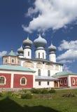 Tikhvin Assumption Monastery, a Russian Orthodox, (Tihvin, Saint Petersburg region, Russia) Stock Photo