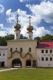 Tikhvin Assumption Monastery, a Russian Orthodox, (Tihvin, Saint Petersburg region, Russia) Royalty Free Stock Image