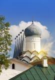 Tikhvin Assumption Monastery, a Russian Orthodox, & x28;Tihvin, Saint Petersburg region, Russia& x29; Royalty Free Stock Photography