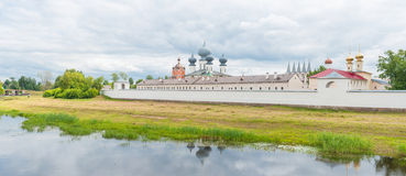 Tikhvin Assumption Monastery Stock Photography