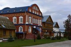 Tikhvin Bogorodichny Uspensky Monastery is an Orthodox women's m Royalty Free Stock Image